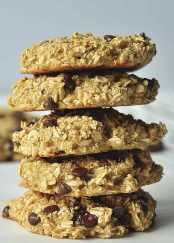 Banana Breakfast Cookie gluten free and refined sugar free. Delicious and kid friendly.