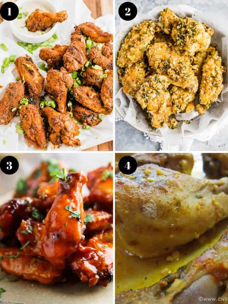 27 of the best paleo chicken wings listed in one place just for you! Find all of most tasties finger licking good paleo and whole30 compliant chicken wings recipes here. We have air fryer, crockpot, grill, baking and instant pot methods covered! Click now for all the tasty links!