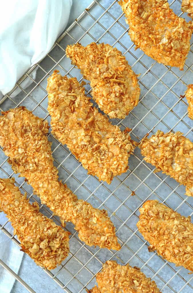 tortilla crusted nacho chicken tenders
