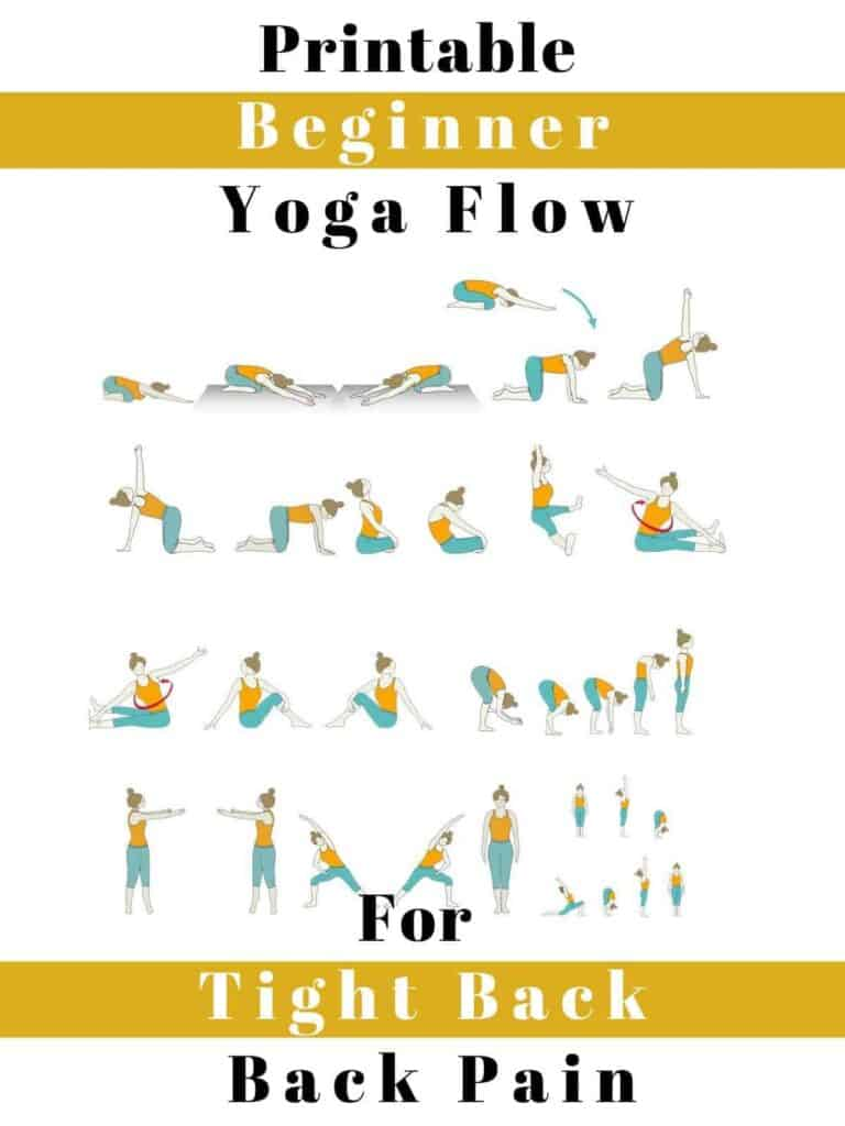 yoga sequence image for tight back