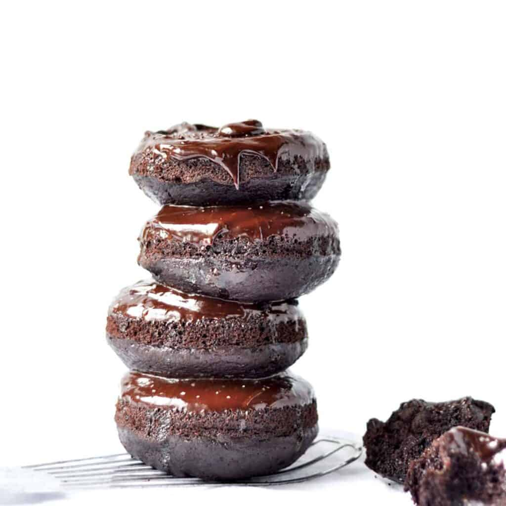 stack of 4 donuts
