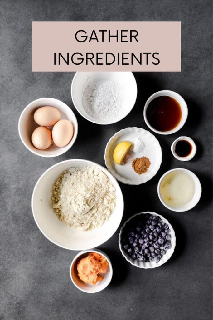ingredients with a label gather ingredients